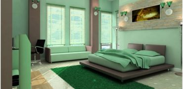 Greenkeepings bedroom